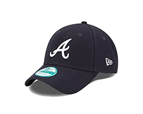 "Atlanta Braves New Era MLB 9Forty ""The League"" Adjustable Hat Chapeau - Road"