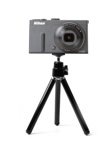 DURAGADGET Mini trépied réglable pour téléphone / appareil photo numérique compact Nikon incluant Coolpix S6100, S2550, S3300 et S2700
