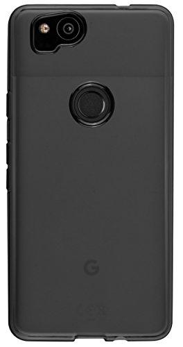 mumbi Schutzhülle für Google Pixel 2 Hülle transparent schwarz - 2
