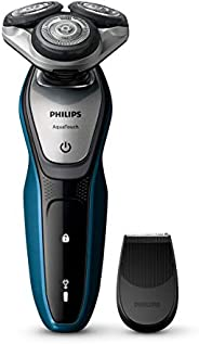 Philips S5420 AquaTouch Wet and Dry Electric Shaver Multi Precision Blade System, 45 min Cordless use/1h Charg