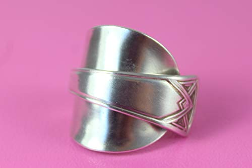 Besteck Schmuck Ring, ca. 60 (19,3) Löffel Schmuck