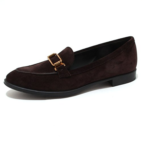 4204P mocassino donna TOD'S scarpa marrone shoe woman Marrone