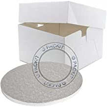 PackitUK, caja para tarta de 12 pulgadas con base redonda de 12 pulgadas.