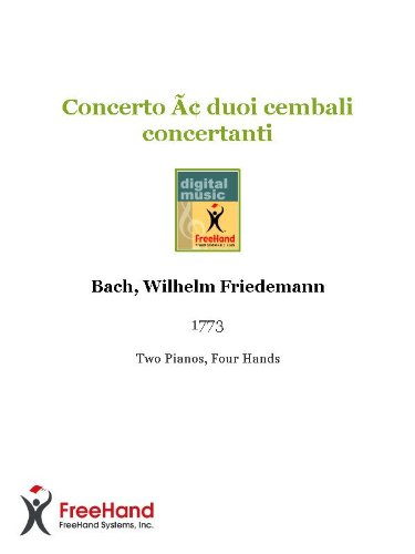Concerto a duoi cembali concertanti (English Edition)