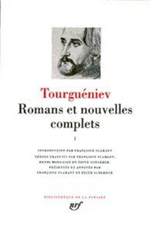 Tourguéniev : Romans et nouvelles complets, tome 3