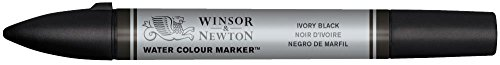 Winsor & Newton Watercolour Markers - Ivory Black (Series 1)