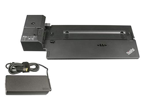 Lenovo Docking Station inkl. Stecker Netzteil (EU) - Basic Docking - Original ThinkPad X1 Carbon (20KH/20KG) Serie -