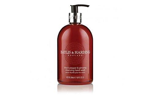 Price comparison product image 'Baylis & Harding' Black Pepper & Ginseng 500ml Hand Wash. A beautiful gift