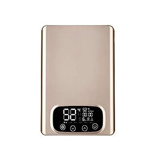 RMXMY Hogar no Puede Calentador de Agua eléctrico, pequeña Ducha termostática Baño Caliente de la máquina Fácil de Instalar Calentamiento instantáneo for Tesoro de la Cocina, baño, peluquería