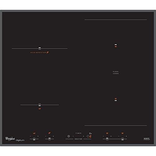 Whirlpool ACM 867/BA/IXL - plaques (Intégré, Induction, Verre, Noir, Verre, senseur)