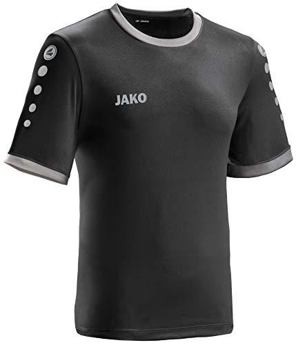 JAKO leichtes Team-Trikot schwarz-anthrazit Unisex Größe S Casual oder Sport Shirt super Damen und Herren