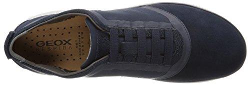 Geox U Nebula B, Baskets Basses Homme Bleu (C4002)