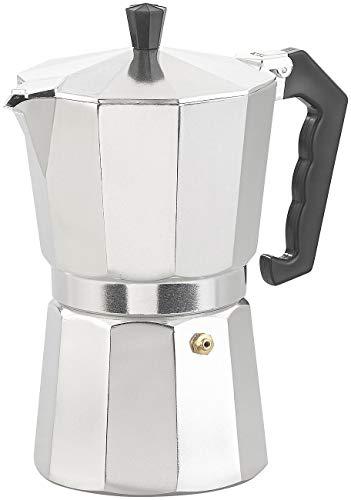 Cucina di Modena Espresso-Kannen: Espresso-Kocher für 9 Tassen, 400 ml, für alle Herd-Arten geeignet (Mokka-Kaffeekanne)