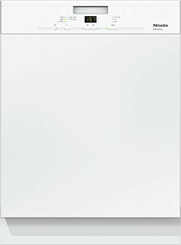 Miele G 4310 i Active ECO Geschirrspüler teilintegriert mit Besteckkorb / A++ / 262 kWh / 13 Maßgedecke / Brillantweiß / 46 dB/ Comfort Korbgestaltung / 5 Spülprogramme