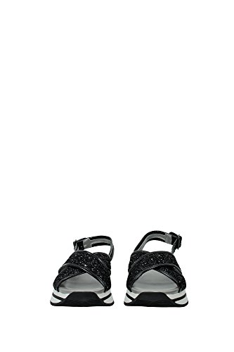 HXW2570U450L04B999 Hogan Sandale Femme Glitter Noir Noir