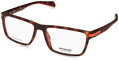 Polaroid Brille (PLD-D354 N9P) Plastik matt havana - matt orange