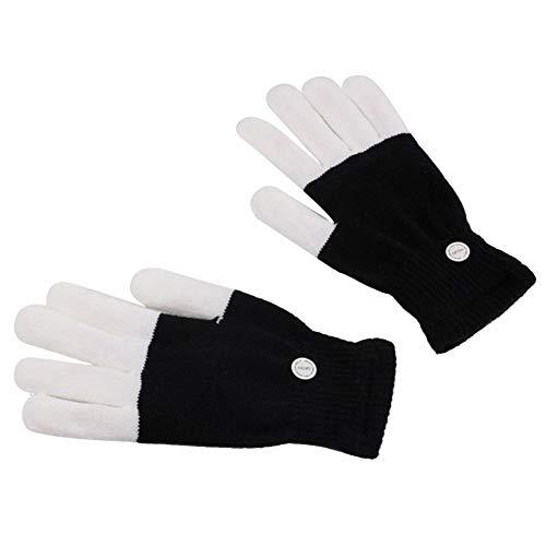 (BEENZY LED Party Handschuhe, Kinder Finger Flashing Light Up Handschuhe Weihnachten Kostüm Glow Spielzeug für Jungen und Mädchen Weihnachten Geburtstagsgeschenk Parteibevorzugung)