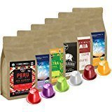 100% USDA Certified Organic Coffee - Nespresso Compatible Capsules - Artizan Coffee Sample (Sample Pack - 60 Pods)
