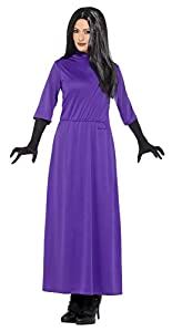 Smiffys 41535s producto oficial de Roald Dahl-Las brujas disfraz, morado, S-UK Size 08-10