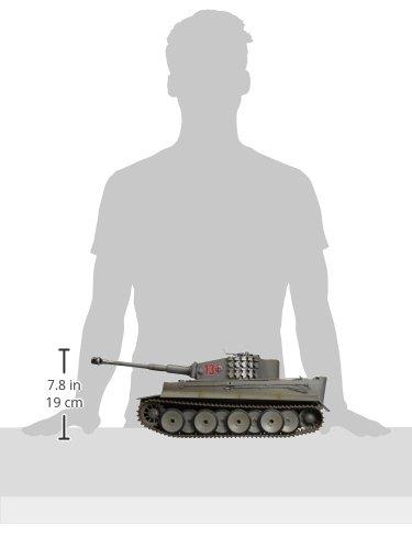 Torro 708 - Panzer Tiger 1, Maßstab 1/16 mit Infrarot Gefechtsystem 2.4 GHz proportionale Steuerung, wintergrau - 4