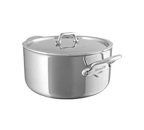 mauviel1830Mich Cook 523112Puddingschale Eintopf ohne Deckel, Rostfreies Metall, 16 cm