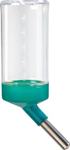 Biberon 75ml Blu Laguna per gabbia rodylounge Mini per criceti, Mouse, gerbille, zolux