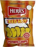 Herr's - Red Hot Potato Chips, Pack of 24 bags by Herr's