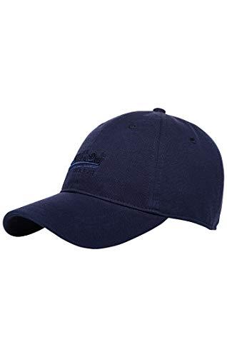 Superdry Damen Baseball Orange Label Twill Cap, Blau (Soft Navy 27s), One Size...