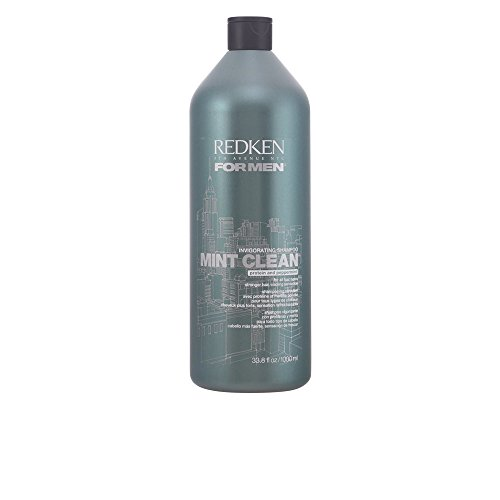 Redken For Men Mint Clean Invigorating Shampoo 1000ml / 33.8 fl.oz.