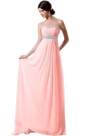 Sunvary Damen Elegant Sweetheart A-Linie Abendkleider Lang ...