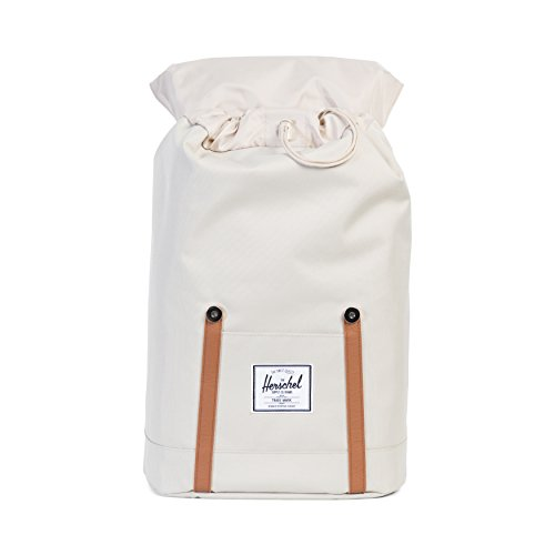 Herschel - Casual day Pack Unisex adulti Pelican/Tan Synthetic Leather