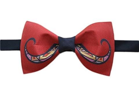 Conception Cravate Grosse Barbe Textile Printing Noeud Papillon