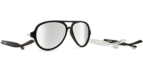 Kameleonz sonnenbrille spiegel brillen bügel Brillensystem mit austauschbaren Bügeln aviator uve400 unisex mann frau hülle Mikrofaser-Reinigungstuch Maverick Triple Set