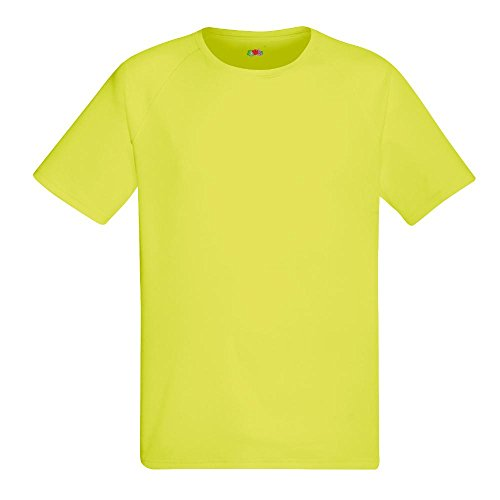Fruit of the Loom - Funktions-T-Shirt 'Performance T' Bright Yellow