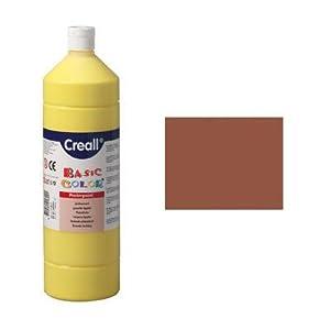 Creall havo018181000ml 18luz marrón Havo Basic Color Póster Pintura Botella