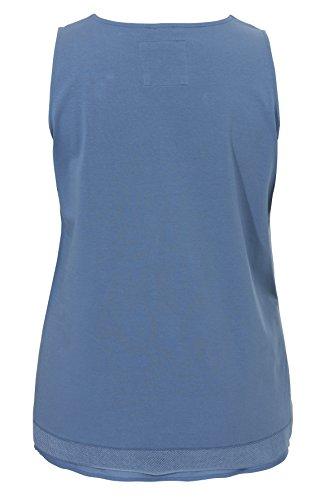 Softes Top im Tunika-Stil Beach Blue