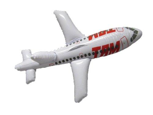 1 Aufblas-Flugzeug ca. 64 cm aufblasbar
