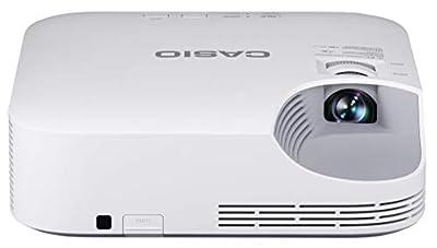 Casio XJ-V2-UJ 3000 ANSI Lumens XGA Laser LED Hybrid DLP Projector, 20000 Hours Life White