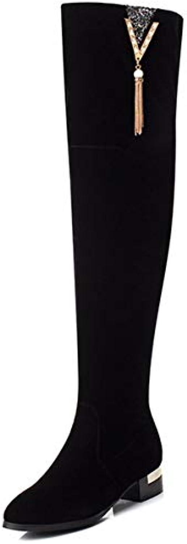 KPHY Scarpe da Donna Brutto Brutto Brutto Mascalzone Martin Gli Stivali Tacco 3 Cm di Altezza 100 di Serie Dipinto Barile Stivali... | Materiali selezionati  | Scolaro/Signora Scarpa  19b29d