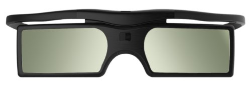 Ultra (TM) aktive Shutter3d Brille RF Bluetooth Signal 3d brille schwarz mit Button-Batterien für alle Mainstram-aktive shutter 3d Fernseher Samsung Panasonic und Mainstream-TV mithilfe von Bluetooth HF-Signale