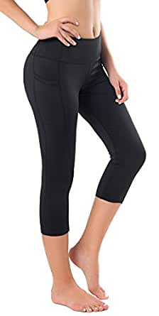 Sugar Pocket Womens Outdoor Capris Fitness Tights Leggings