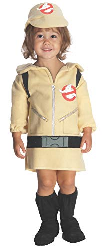 Girl 's Ghostbuster Kleinkind 1-2 Fancy Kleid 1980er Halloween Ghostbusters - Kleinkind Ghost Kostüm