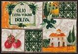 Salonloewe Fußmatte Toscana Patchwork 50 x 75 cm