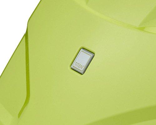 TITAN X2 Hartschalenkoffer Handgepäck, 825406-13 Koffer, 55 cm, 40 L, Lime Green -