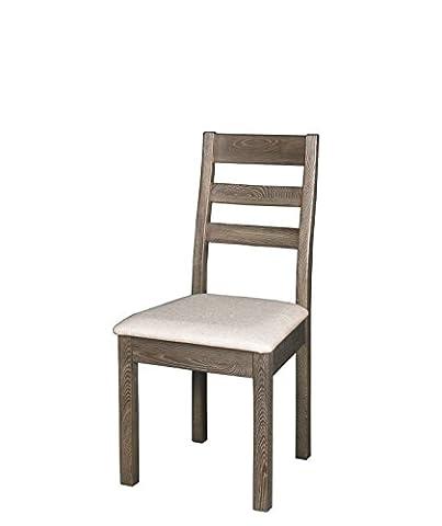 Chaise de salle à manger en bois massif orme Leisure