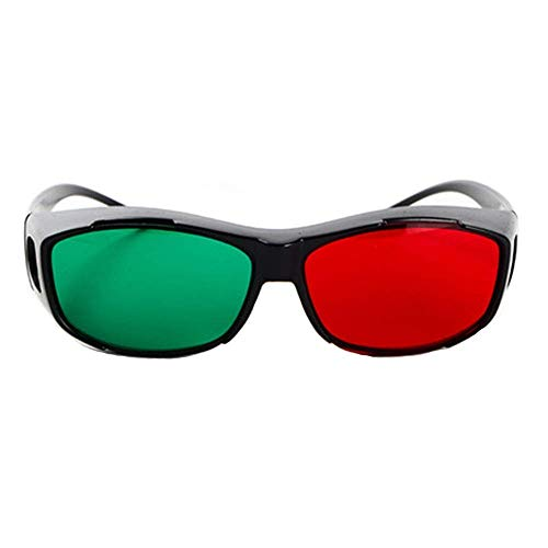 LYDIANZI Color Blind Brille for Männer und Frauen mit Rot-Grün-Blindheit, Farbensehen Disorder, Farbe Schwäche, zu unterscheiden Ampeln