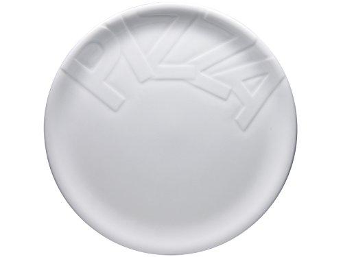 Creatable 16581 Serie Gourmet, Pizzateller 32cm 4tlg Pizzateller, Porzellan, Weiß, 34.5 x 34 x 8 cm, 4 Einheiten