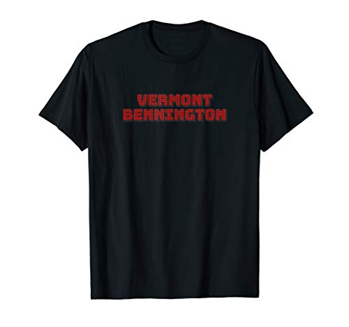 Knitting Style VERMONT BENNINGTON Unique Tee Best Gift T-Shirt - Bennington, Vermont
