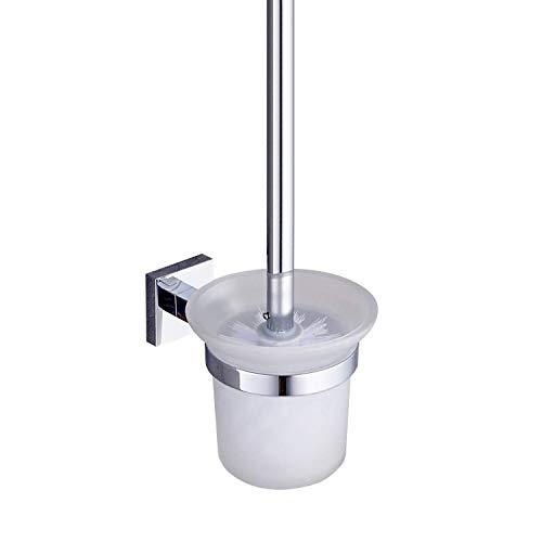 Preisvergleich Produktbild Auralum® WC-Bürstenhalter Klobürste Klobürstenhalter Bürste Wandhalter WC-Garnitur
