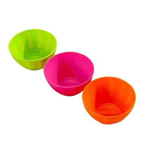 Hemoton 3 Piezas Tazones plástico Recipientes Ensalada
